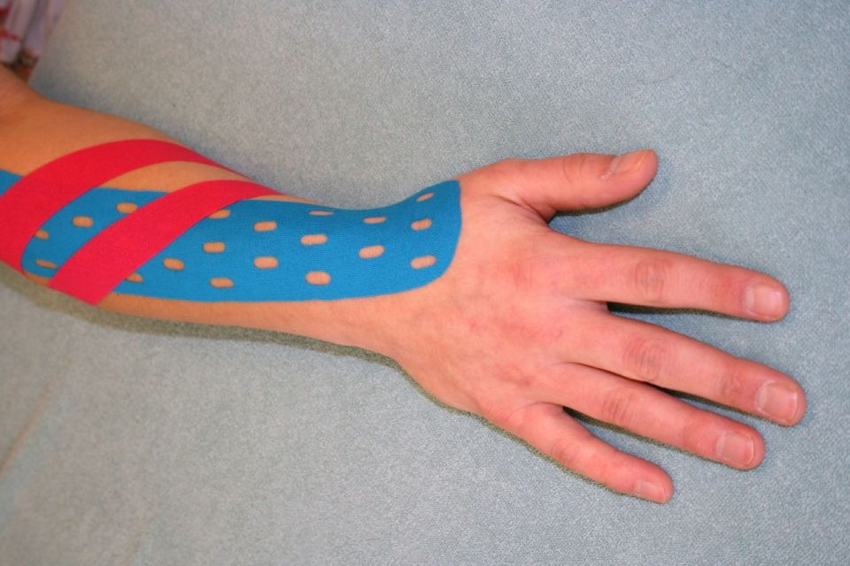 Medical taping kinderen